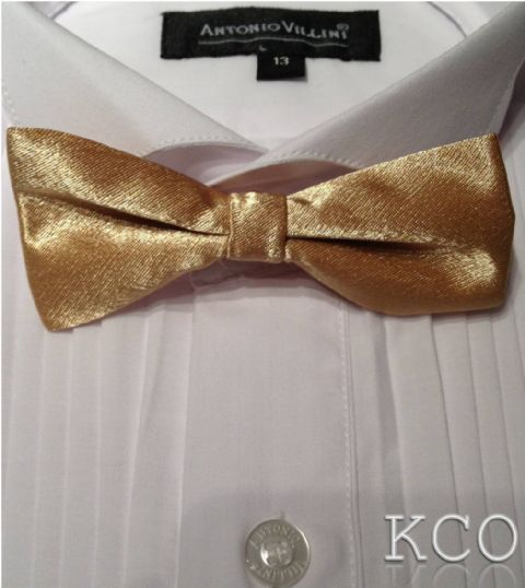 Bow Tie Gold~Special Occasion